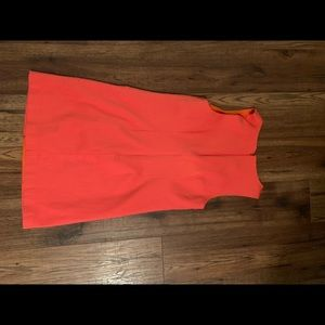 Cute, Above the Knee, CeCe Orange Dress